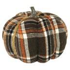 Small Plaid Pumpkin